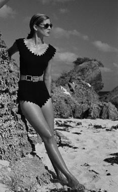Janet Stevenson and Sabine Modeling