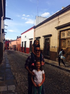 Lettie, Ed, and Mary-Randolph in one of their favorite spots in the world (San Miguel de Allende)