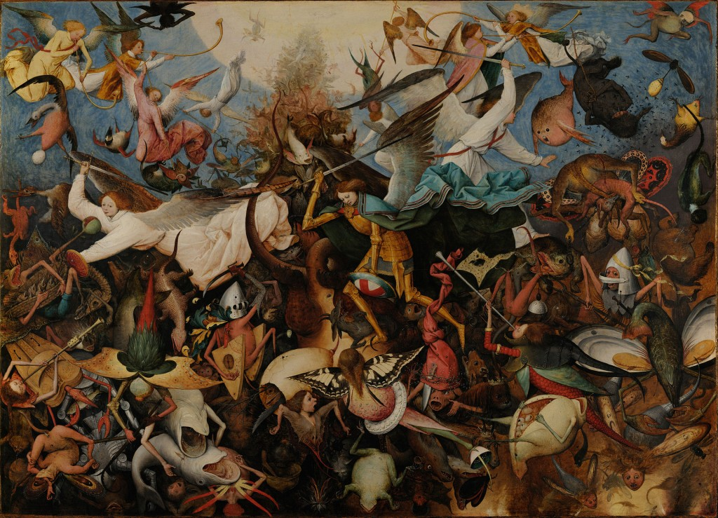 Pieter Bruegel The Fall of the Rebel Angels, 1562