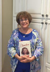 My mom (Marion Herndon) holding one of her Mother's Day gifts