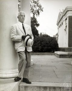William Faulkner/Photo by Ralph Thompson